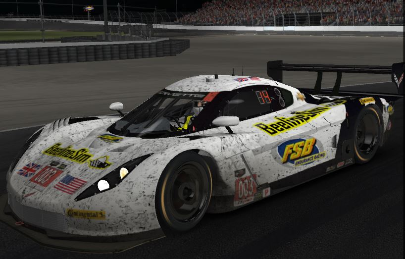 FSB Endurance Team Scores a Top-10 At iRacing's 24 Hours of Daytona